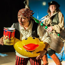Flashboum spectacle Chou pour le pirate Tatou